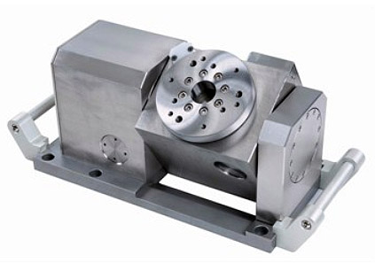 JSEDM Globus Tilting Rotary Table Faceplate 115 mm